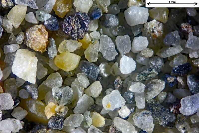 Bild 2 Sand aus Alanya/Türkei