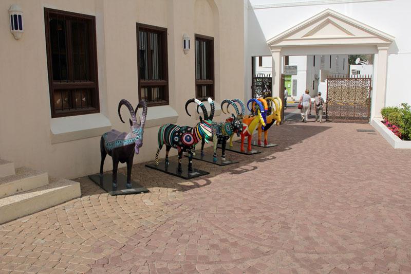 Im Bait al zubair Museum in Alt Muscat, Oman 2017