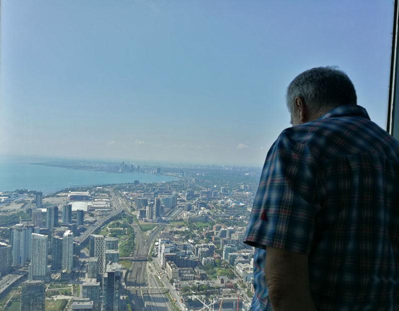 Bild 32 Blick vom CN Tower