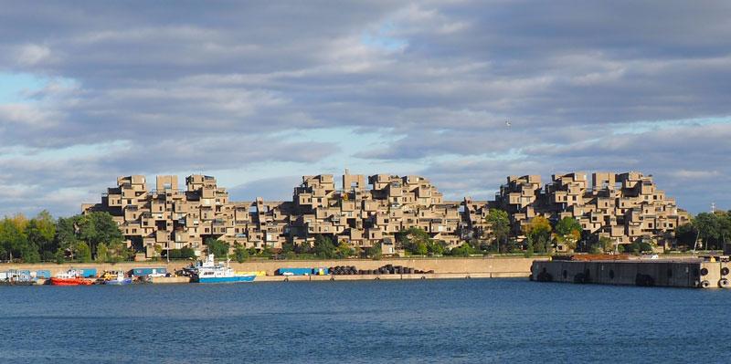 Bild 38 Am Hafen Blick auf einen Teil der Stadt