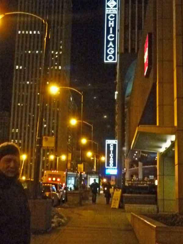 Bild 14 Chicago bei Nacht