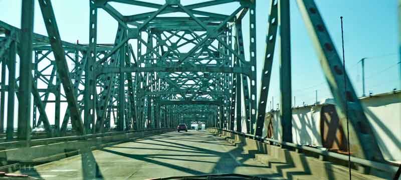 Bild 11 Fahrt über den Mississippi
