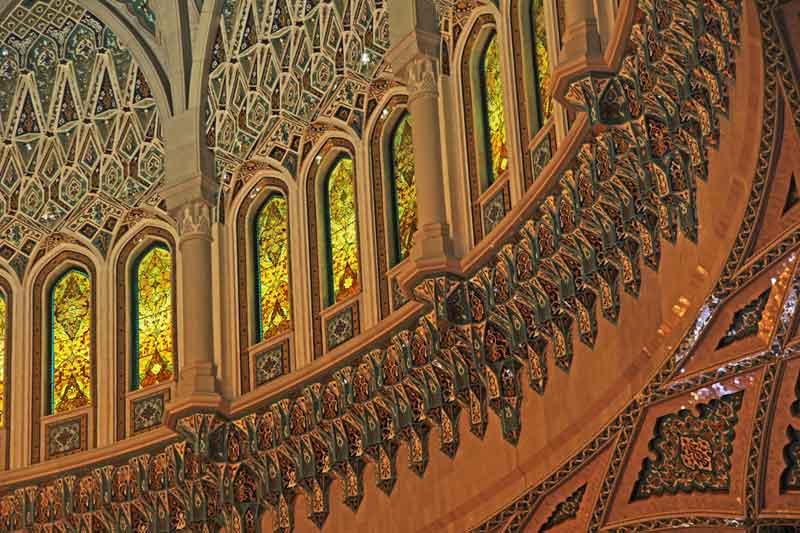 Bild 7 In der Sultan Qaboos Moschee
