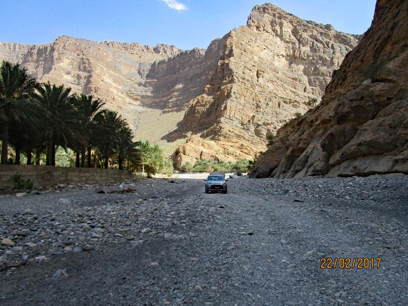 Bild 9 Am Ende des Wadis Blick in einen kleinen Seitenarm
