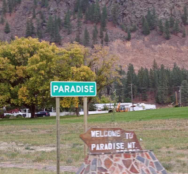 "Bild 9 Immer am Flathead River entlang bis ins ""Paradies"""