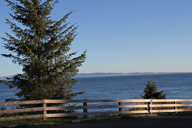 Bild 2 Blick auf Vancouver Island