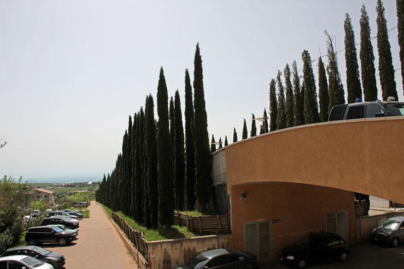 An der Kirche in San Giovanni di Rotondo