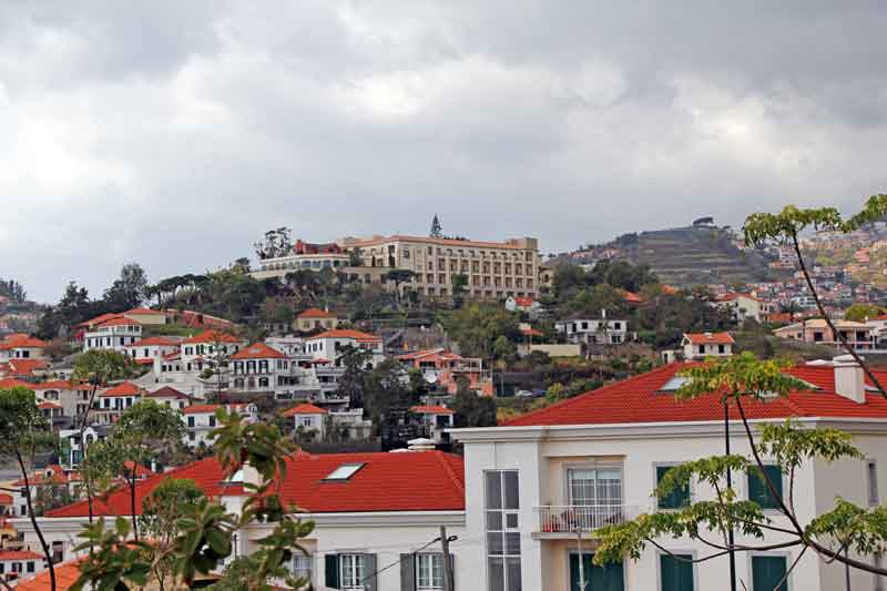 Bild 18 Blick auf das Hotel La Quinta, in dem wir die ersten 2 Tage waren