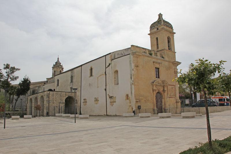 Eine Kirche in Ragusa