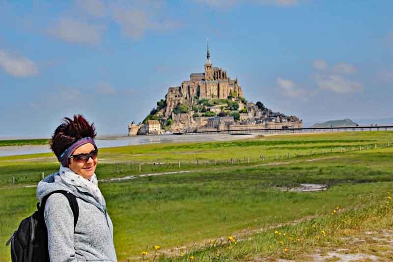 Bild 2 Auf dem Weg zu Mont-Saint-Michel