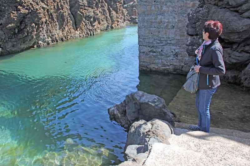 Bild 34 An der Felsenküste von Porto Moniz