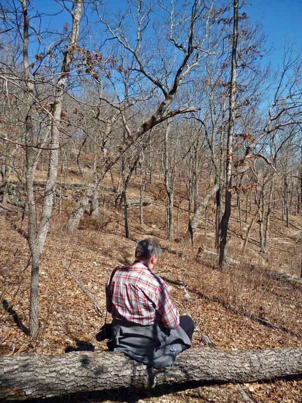 Bild 9 Unterwegs auf dem Oak Trail im Ondanaga State Park