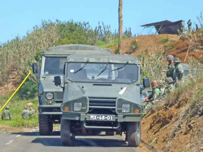 Bild 17 Militärübung am westlichsten Punkt Madeiras