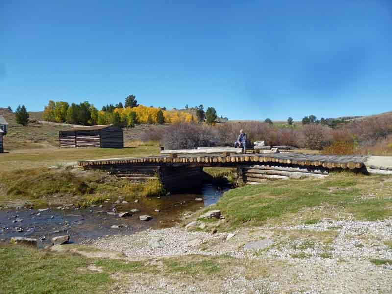 """Bild 8 Besichtigung des alten Bergbauortes """"South Pass City"""""""