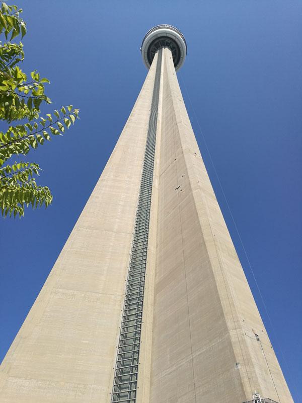 Bild 45 Vor dem CN Tower