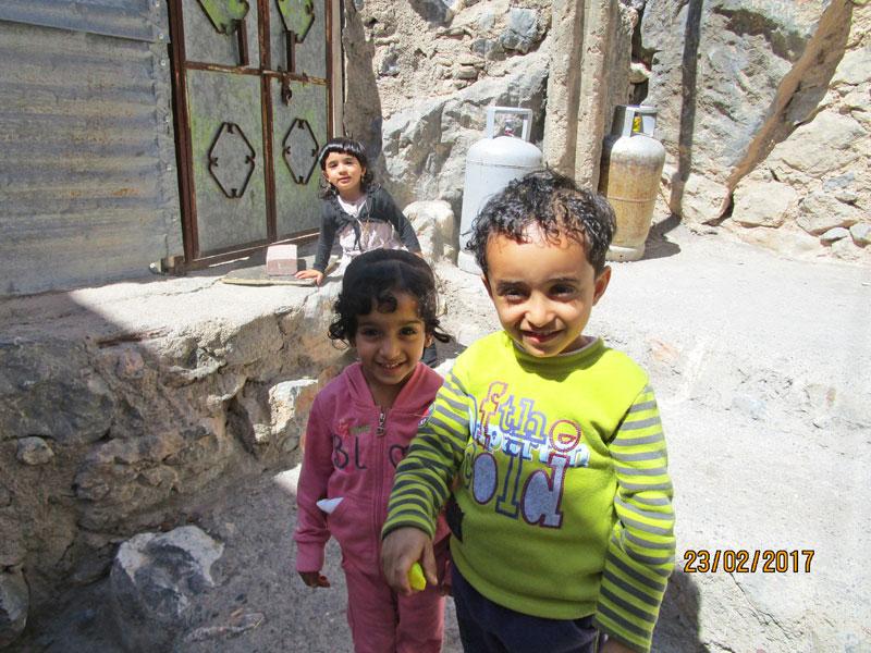 Bild 9 Kinder im Dorf
