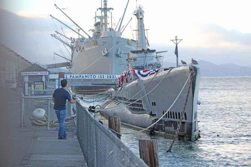 Bild 44 U-Boot am Pier