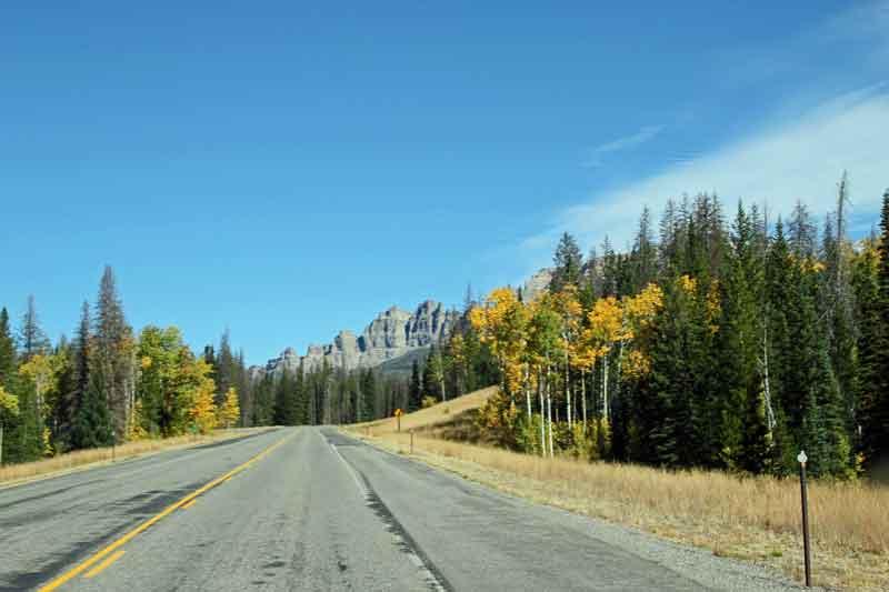 Bild 2 Auf dem Weg zum Grand Teton Nationalpark in den Rocky Mountains