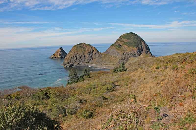 Bild 13 Immer wieder tolle Blicke auf die Küstenlandschaft in Oregon