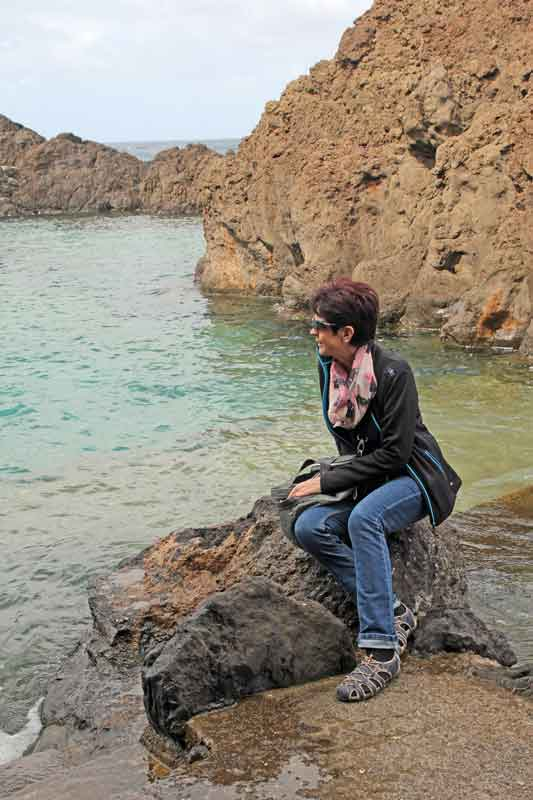 Bild 35 An der Felsenküste von Porto Moniz