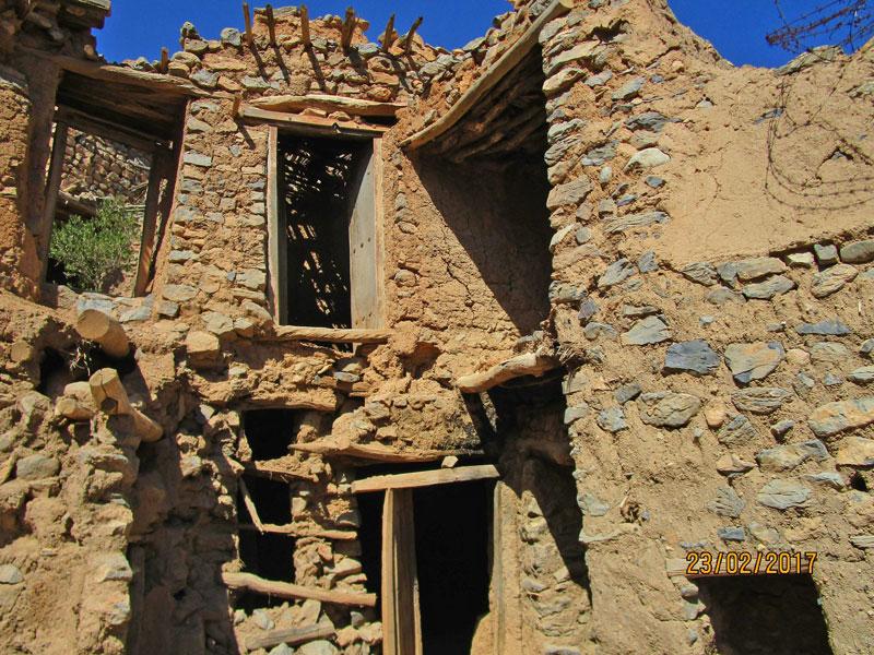 Bild 16 In der verlassenen Stadt im Wadi Habib