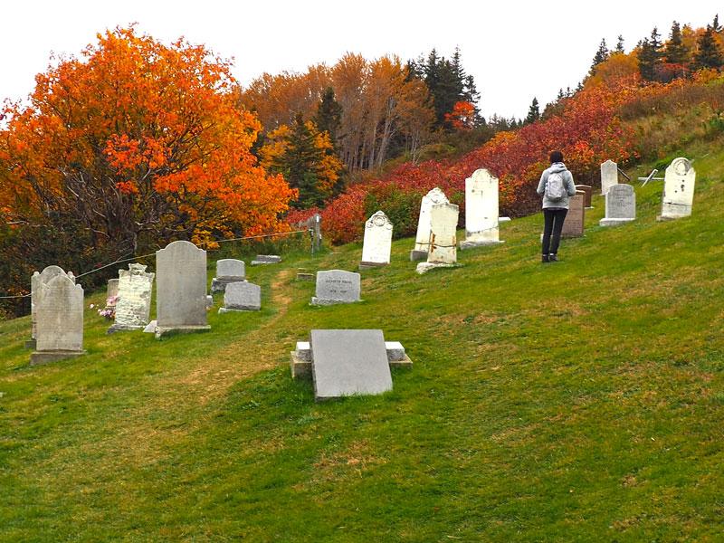 Bild 12 Ein indianischer Friedhof, warum ist der hier so abgelegen?