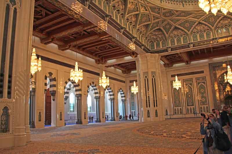 Bild 8 In der Sultan Qaboos Moschee