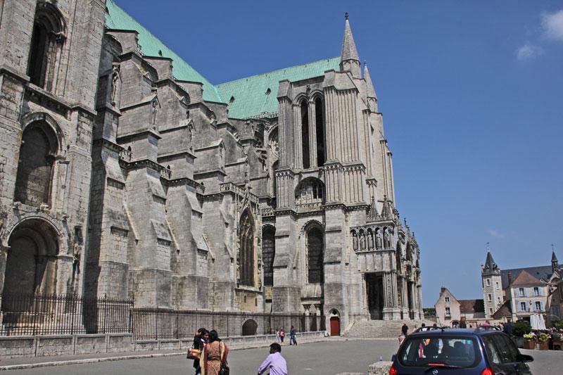 Bild 2 Kathedrale von Chartres