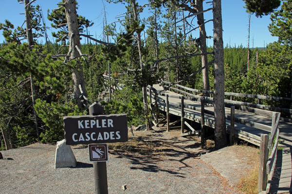 Bild 2 An den Kepler Cascades
