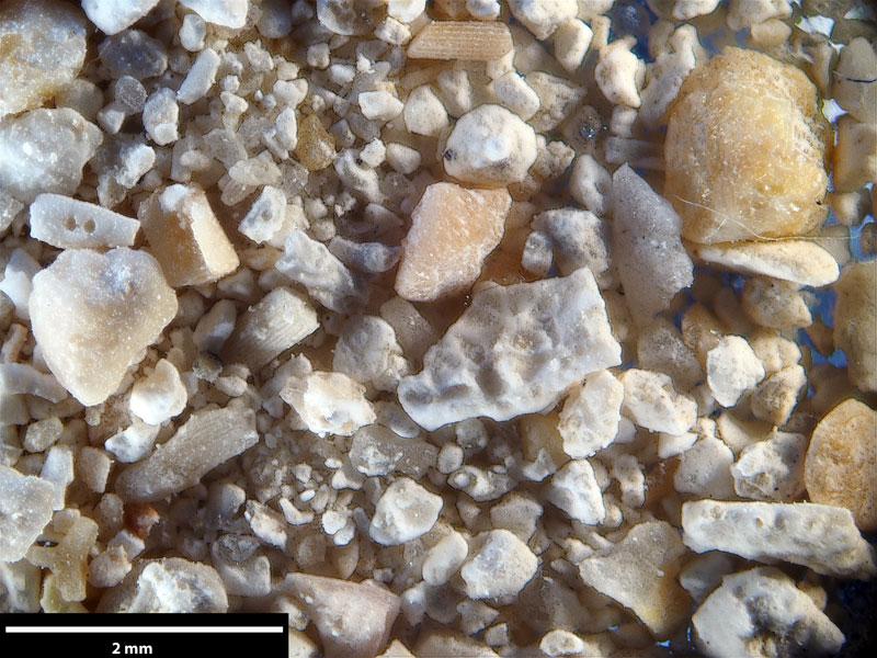 Bild 3 Sand aus Batesford quarry, Viktoria Australien