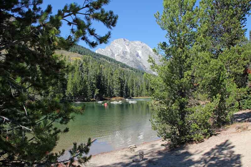 Bild 11 Wunderschöner Wanderweg entlang des Leigh Lakes