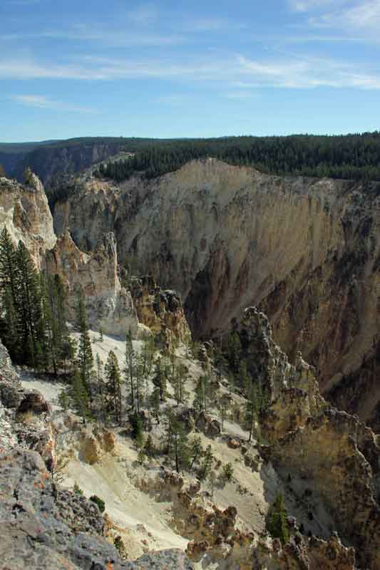 """Bild 13 Yellowstone, am Yellowstone """"Grand Canyon"""""""