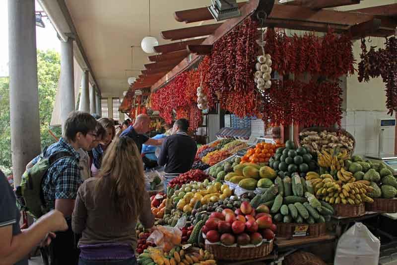 Bild 23 Die Auswahl an Obst und Gemüse ist wirklich toll, der Duft und die Farben begeistern