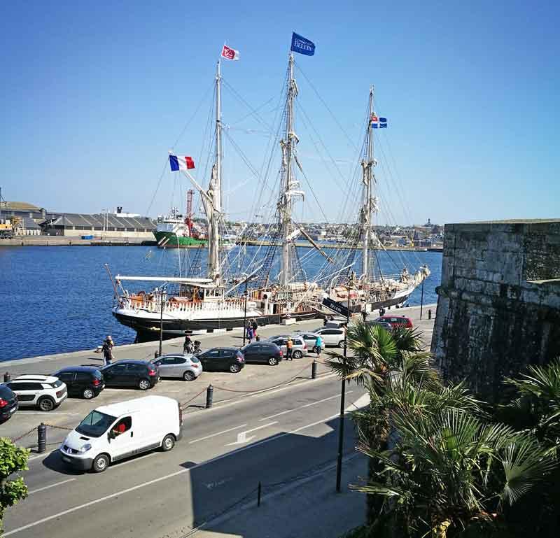 Bild 30 In St. Malo Blick von der Stadtmauer