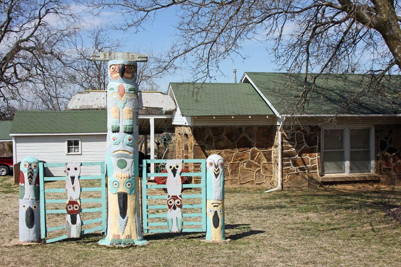 Bild 11 Totem Pole im Park