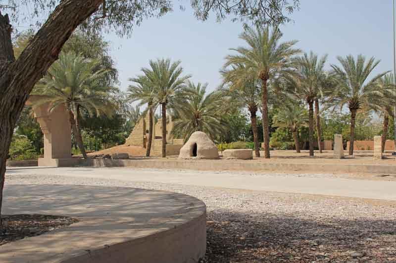 Bild 5 Im Qurum Park in Muscat