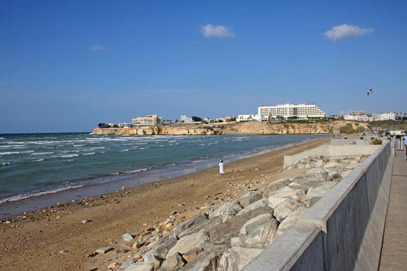 An der Corniche von Muscat