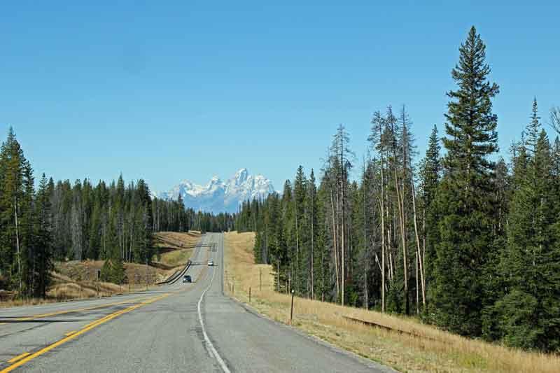 Bild 4 Auf dem Weg zum Grand Teton Nationalpark in den Rocky Mountains