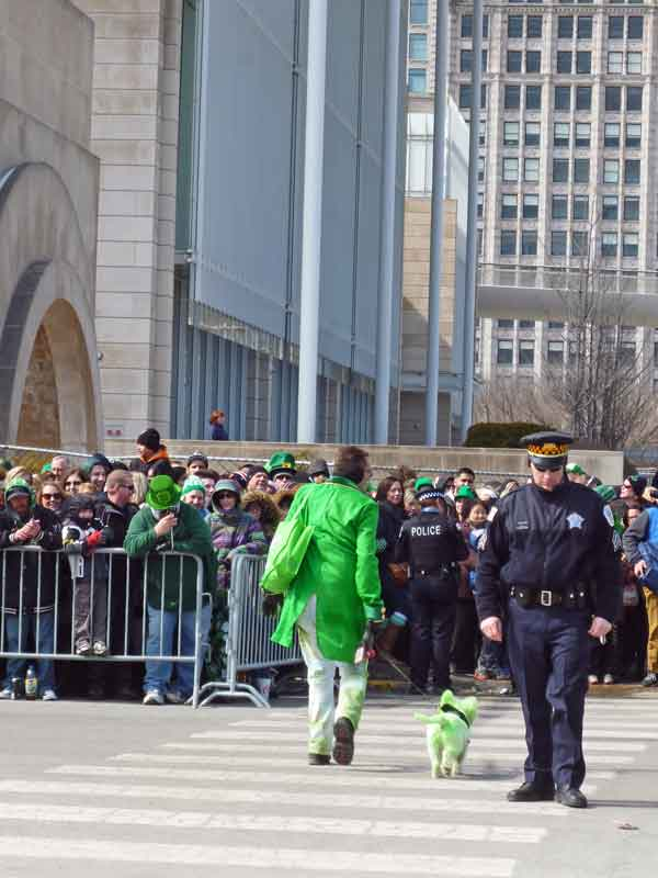 Bild 18 Parade am St. Patricks day in Chicago