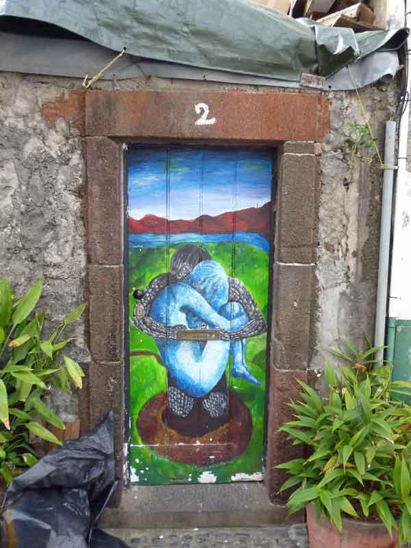 Bild 56 Tolle Haustürbemalungen in Funchal