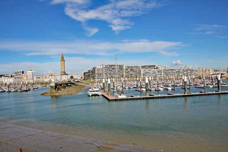 Bild 24 Hafen von Le Havre