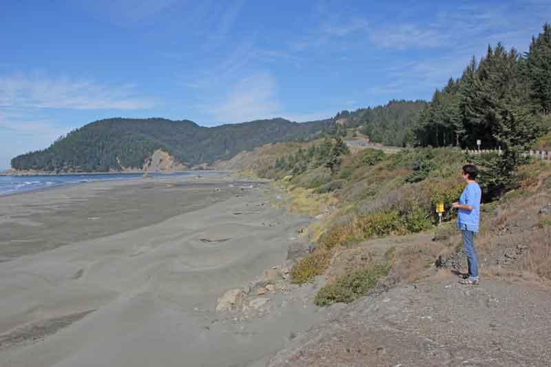 Bild 9 Immer wieder tolle Blicke auf die Küstenlandschaft in Oregon