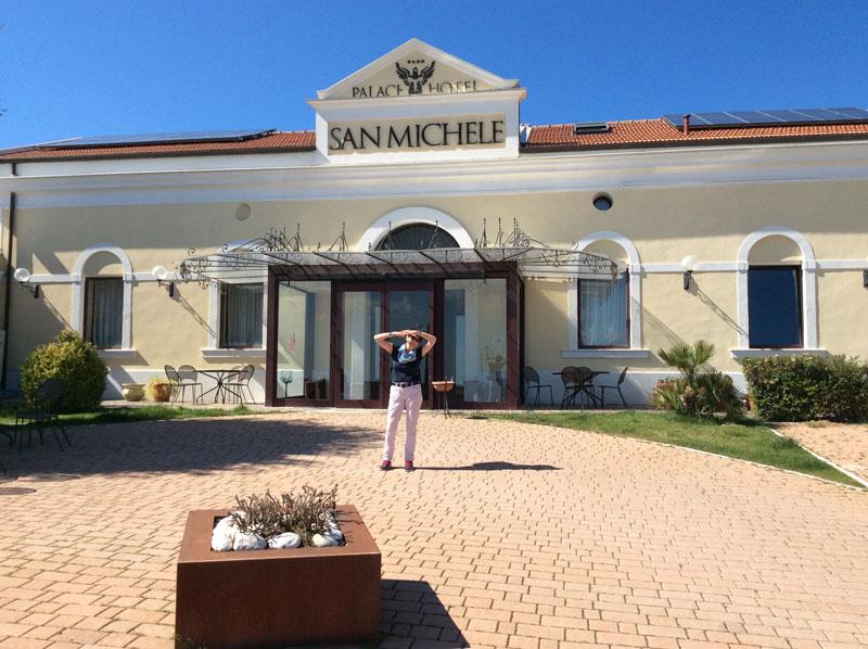 Das Hotel Palace San Michele
