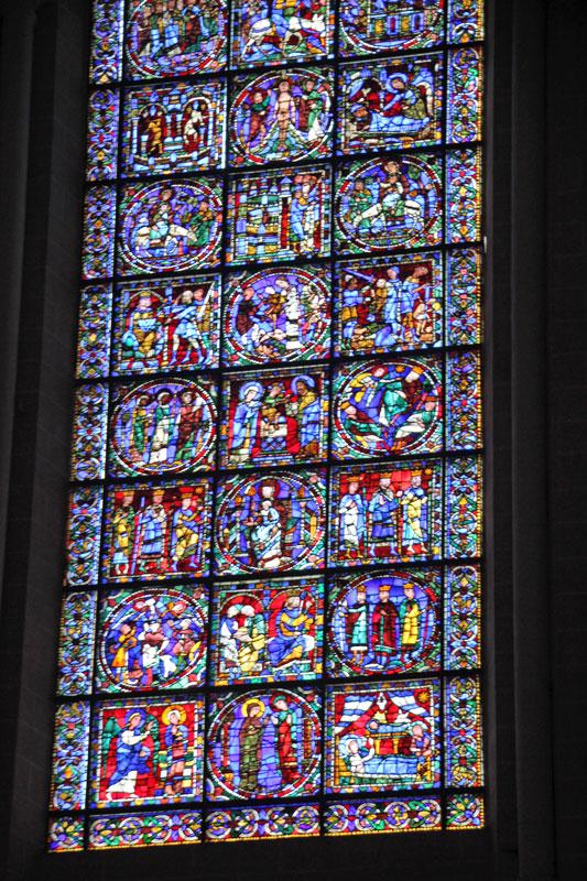 Bild 7 Kathedrale von innen in Chartres