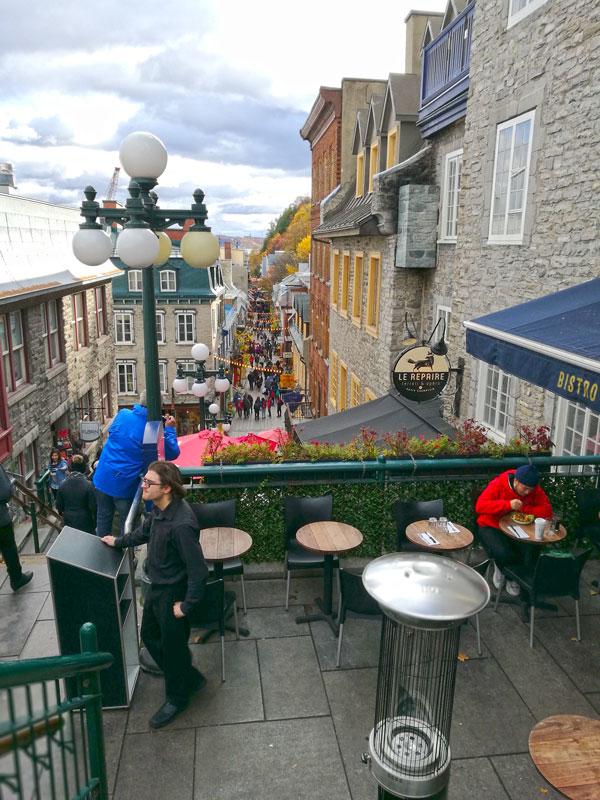 Bild 44 Bummel durch Quebec