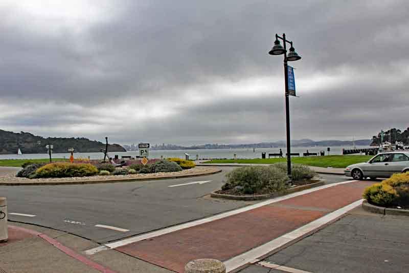 Bild 7 Morgens in Tiburon, Blick auf SF auf der anderen Seite der Bay