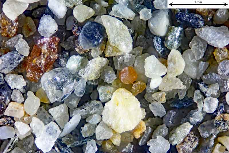 Bild 1 Sand aus Alanya/Türkei