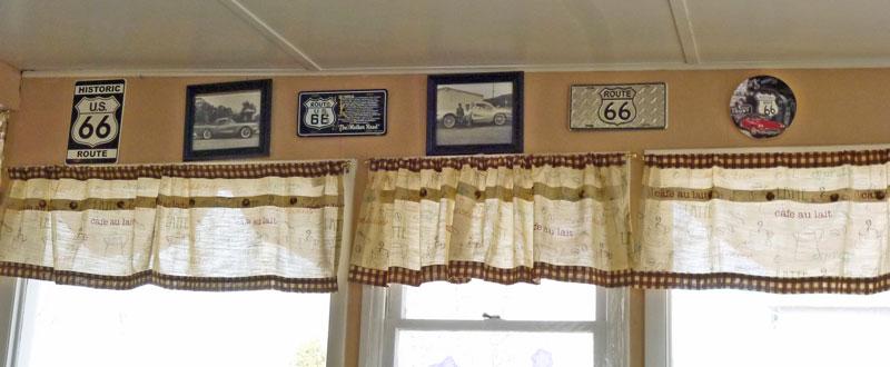 Bild 2 In Shellys Route 66 Cafe an der historischen Route 66