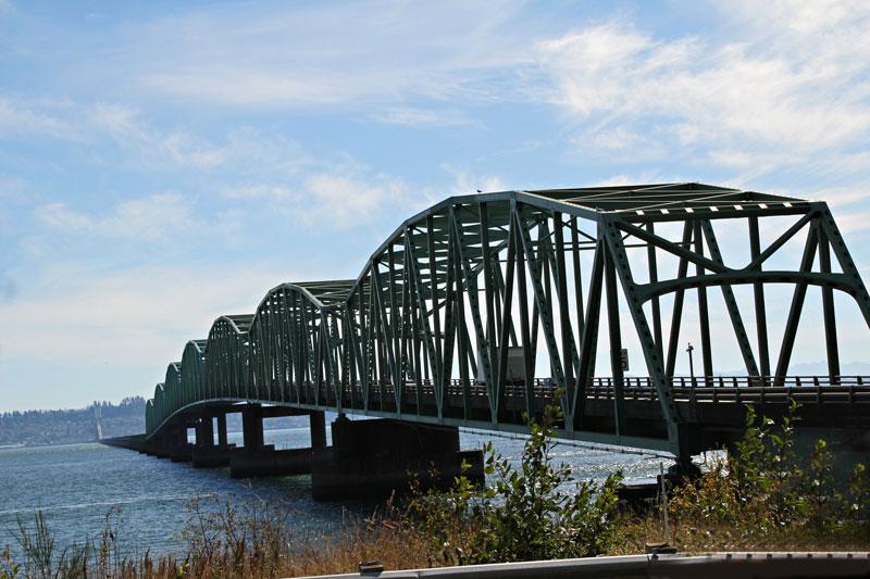 Bild 5 Brücke über den Columbia River