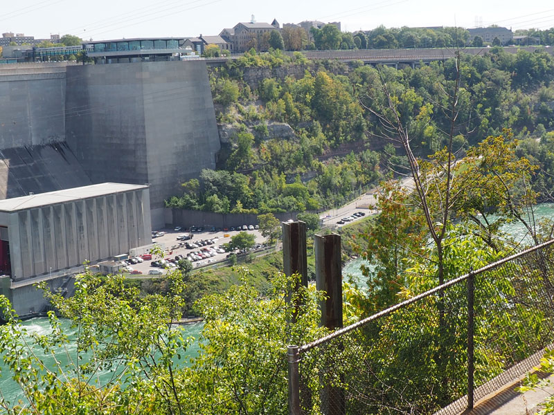 Bild 7 An der Niagara Power Station